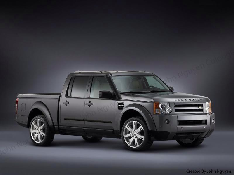land rover discovery pick up alex miedema. Black Bedroom Furniture Sets. Home Design Ideas