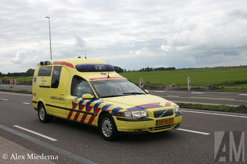 Nederlandse Volvo S80 ambulance - Alex Miedema
