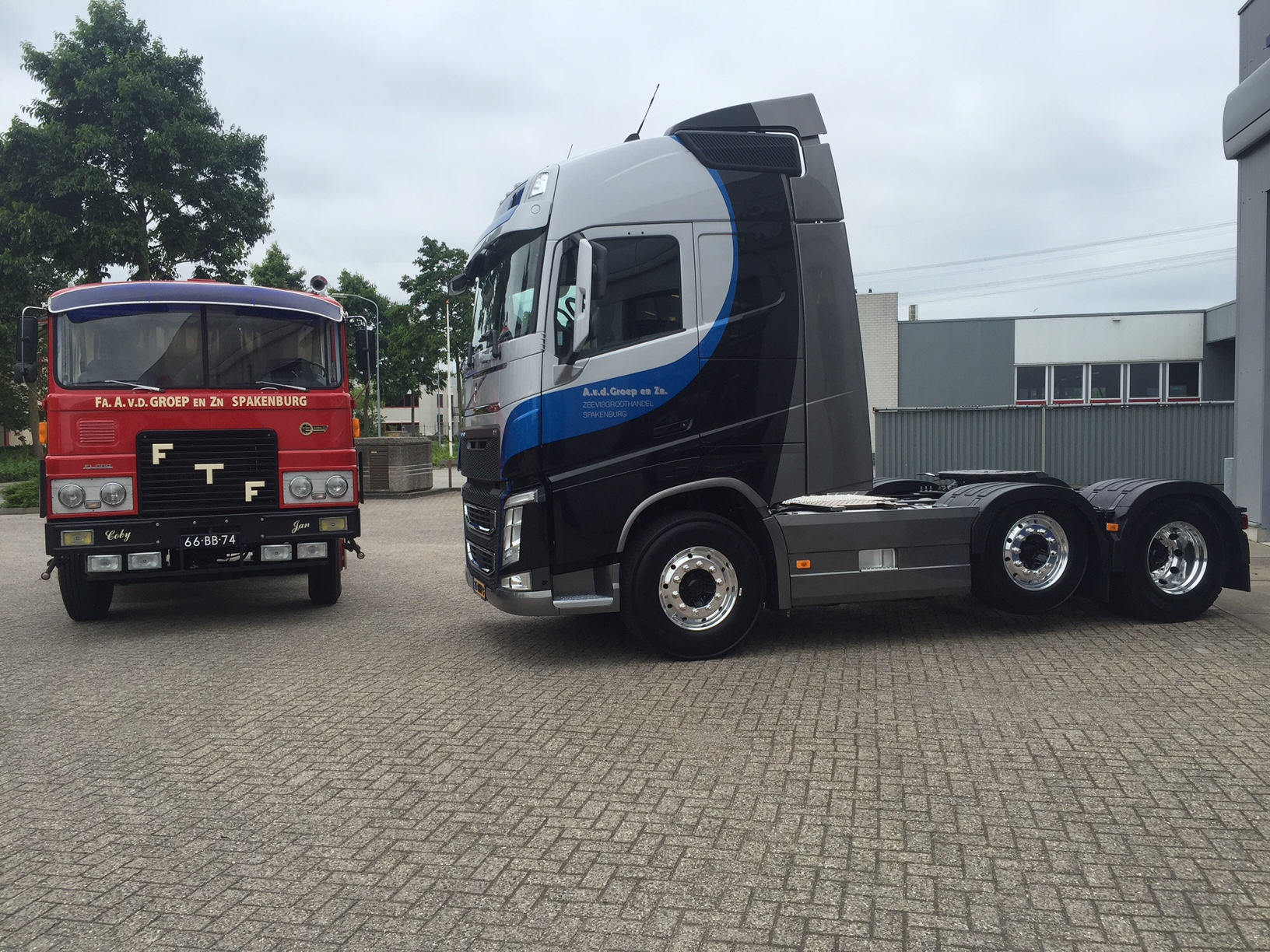 volvo fh voor van de groep alex miedema. Black Bedroom Furniture Sets. Home Design Ideas