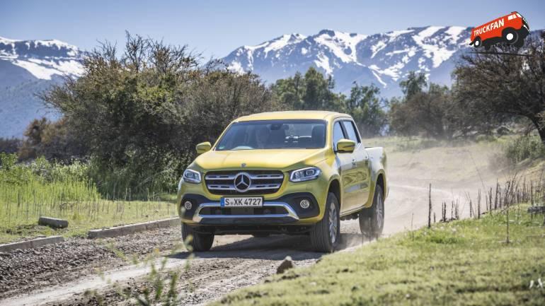 Mercedes-Benz X-Class: Pickup Meets Lifestyle - Trailer