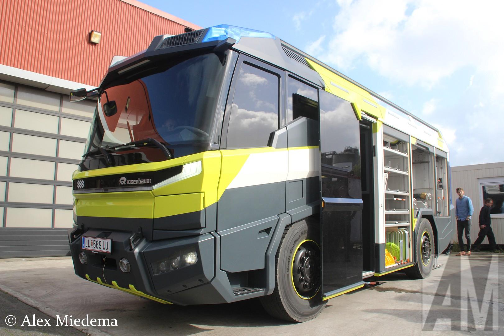 Pictures Of Future Trucks: Rosenbauer Concept Fire Truck: De Brandweerwagen Van De